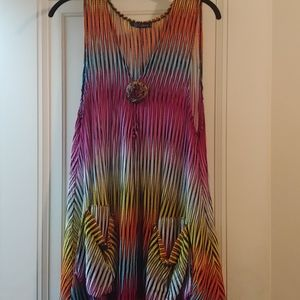 Xl/Xxx multicolored vest